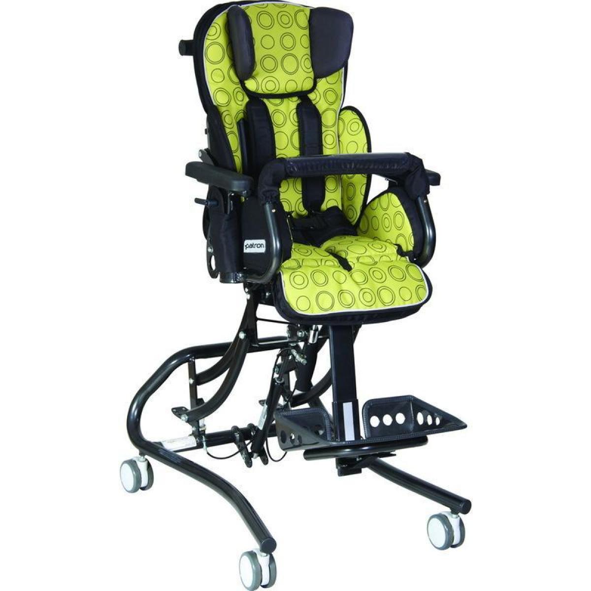 Детская комнатная кресло-коляска ДЦП Patron Froggo