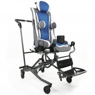 Детская коляска терапевтическая Thomashilfen ThevoTwist на домашней раме