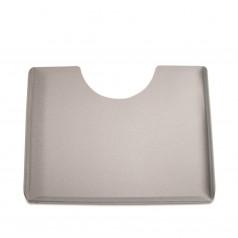 Столик, квадратный, серый или прозрачный