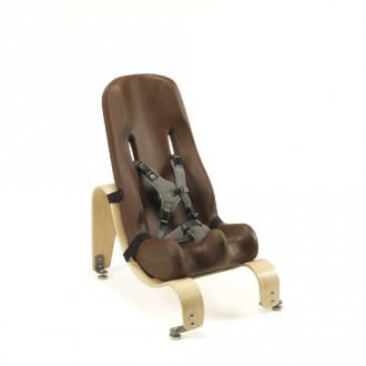 Кресло Special Tomato с деревянной стационарной базой