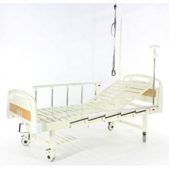 Кровать c механ.приводом Belberg 17B-1Л, 1 функция, пластик (без матраса+столик)