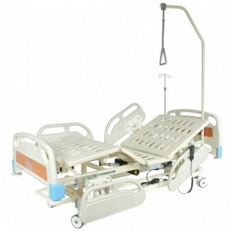 Кровать функциональная с электроприводом Belberg-3-79 с выдвиж.ложементом (5 функ) (CPR+аккум)