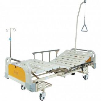 Кровать функциональная с электроприводом Belberg 6-67 (2 функции) с ростоматом, (без матраса) пластик