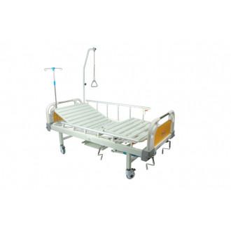 Кровать с механическим приводом Belberg 8-20 (2 функции) пластик с туалетным устройством