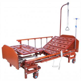 Кровать с электроприводом Belberg 6-066H, 3 функц. с ростоматом ЛДСП (без матраса+столик)