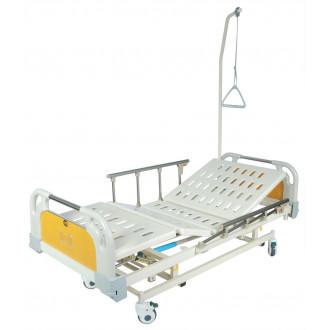 Кровать с механ.приводом Belberg 31-26, 3 функц. с ростоматом ПЛАСТИК(без матраса+столик)