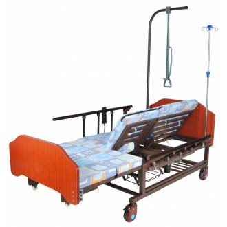 Кровать с электроприводом Belberg 11A-121ПН, 5 функц. туал.устр. ЛДСП (против.матрас)