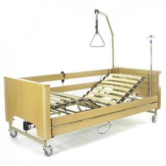 Кровать с электроприводом Belberg 1-194ДЛК, 5 функц. ДЕРЕВО (матрас)