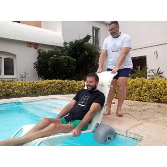 Кресло-коляска пляжная плавающий шезлонг Observer базовый