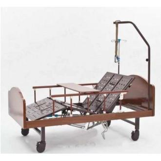Механическая кровать функциональная медицинская DHC с принадлежностями FF-4 с функцией переворачивания пациента