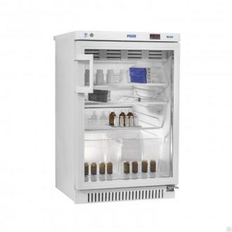 Холодильник фармацевтический малогабаритный ХФ-140-1 со стеклянной дверью (140 л)