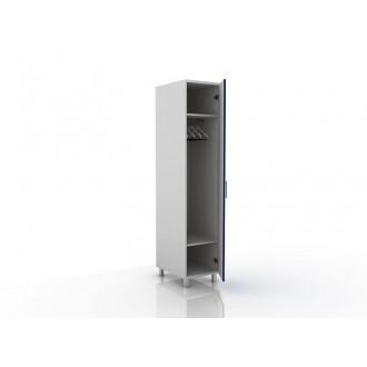 Шкаф для одежды (в комплекте перекладина хром, полки) 105-001-2