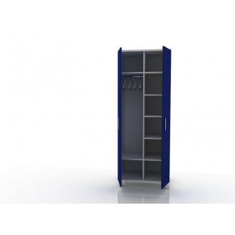 Шкаф для одежды (в комплекте перекладина хром, полки) 105-001-9
