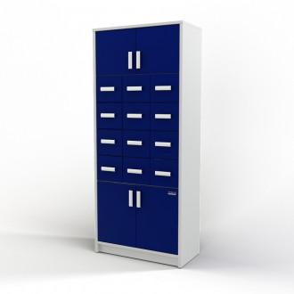 Шкаф картотечный (глухие дверцы) 105-004-2