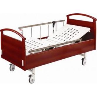 Кровать  электрическая  с деревянными спинками