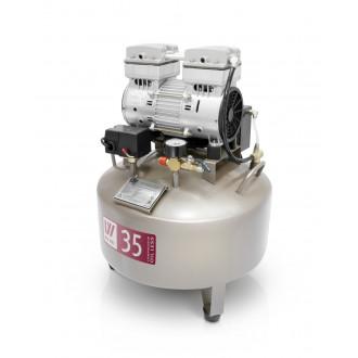 Компрессор стоматологический безмасляный W-602