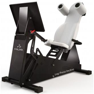 Тренажер механотерапевтический HUR Rehabilitation 5545 жим ногами сидя и полулёжа