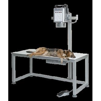 Рентгеновская диагностическая система Gierth HF 200 A Plus со столом CombiVet S