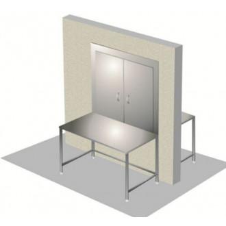 Стол передаточный М-СЛМ-200/60П с передаточным окном