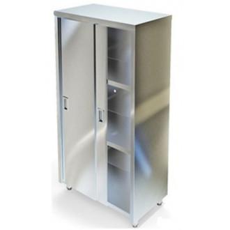 Стеллаж МСЗ закрытый с дверьми-купе/с распашной дверцей