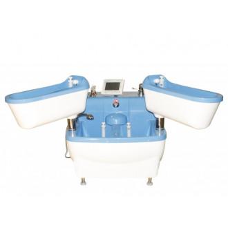 Четырехкамерные ванны для струйно-контрастных и электрогальванических процедур Tasman