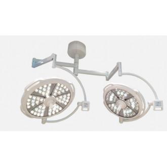 Светодиодный хирургический светильник двух купольный YDZ700/500 plus