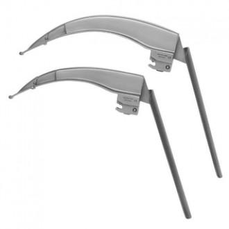 Клинки ларингоскопические Ri-Integral Flex Macintosh Ф.О. c гибким дистальным концом, со встроенными световодами