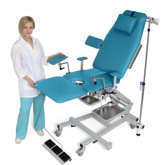 Гинекологическо кресло трехсекционное операционное электромеханическое ZERTS