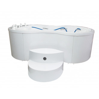 Ванна водолечебная Хаббарда для подводного душ-массажа