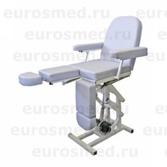 Педикюрное кресло MedMebel №3м с четырьмя электроприводами
