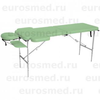 Массажный стол MedMebel №52 с подголовником и подлокотниками