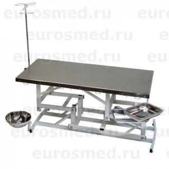 Стол ветеринарный универсальный СВУ-1 электропривод