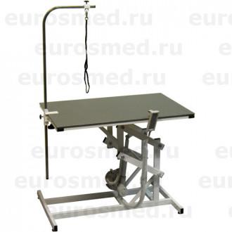 Стол ветеринарный универсальный для груминга СВУ с электроприводом и полимерным покрытием