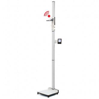 Весы медицинские платформенные с электронным ростомером seca 285