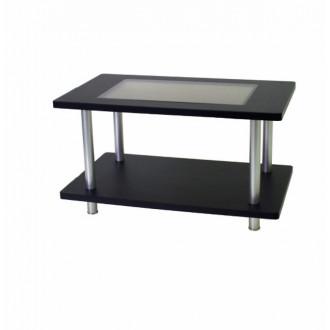 Стол для приемной со стеклянной столешницей