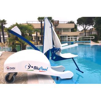 Мобильный подъёмник для бассейна BluPool