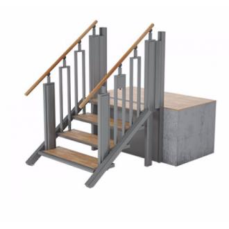Лестница-трансформер FlexStep V2 / 4 ступеньки / высота подъёма до 925 мм