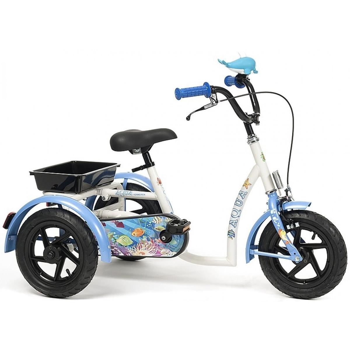 Трехколесный детский велосипед Vermeiren Aqua (3-7 лет)